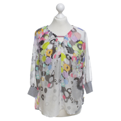Marc Cain Blouse with floral pattern