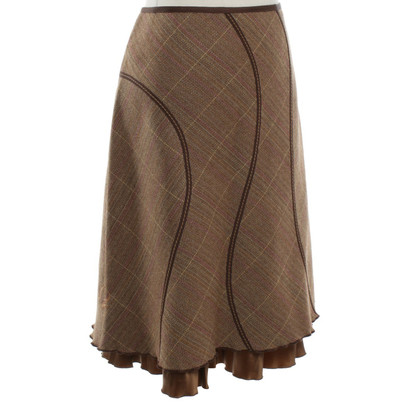 Luisa Cerano skirt with pattern
