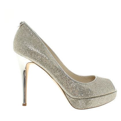 Michael Kors Silver colored pumps