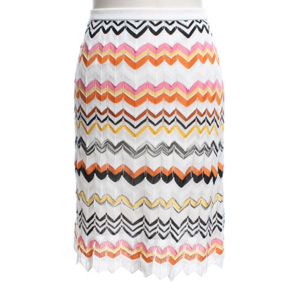 Missoni skirt from crochet lace