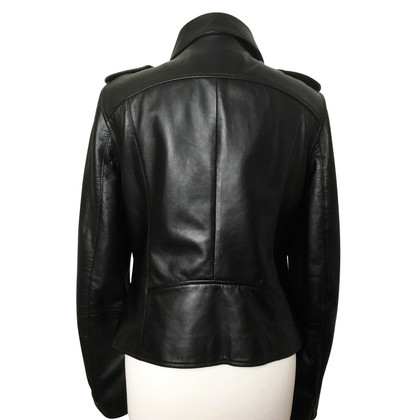 Karl Lagerfeld biker jacket made of lambskin