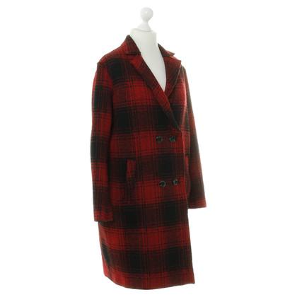 Cinque Coat with plaid pattern