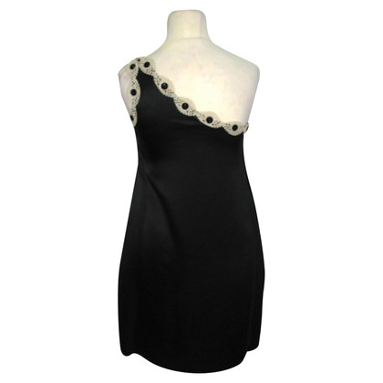 3.1 Phillip Lim One shouldered black dress