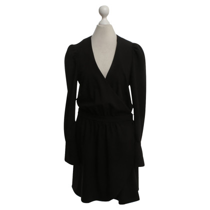 Tara Jarmon Wrap dress in black