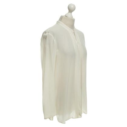 Luisa Cerano Silk blouse in cream