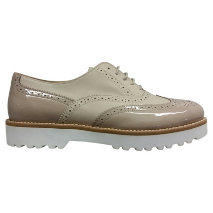 Hogan Lace-up shoes made of leather mix