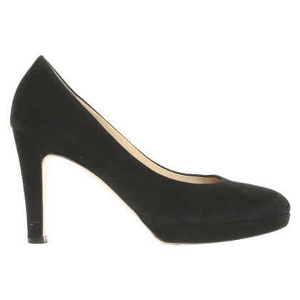 Unützer Leather pumps in black