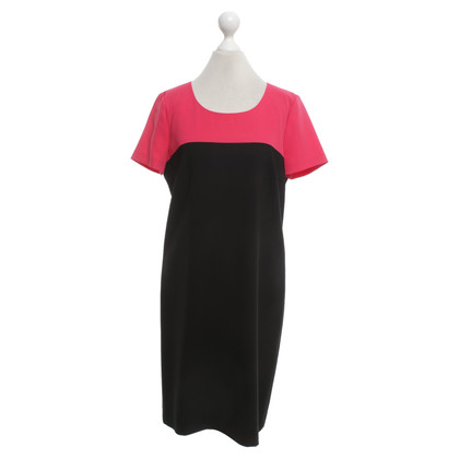 DKNY Schede jurk in bicolor