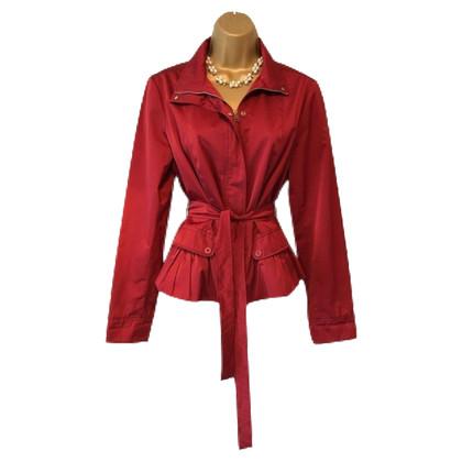 Max Mara Lichtgewicht rood jasje
