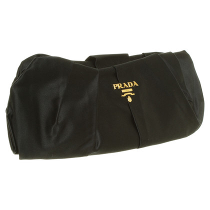 Prada clutch in satin look