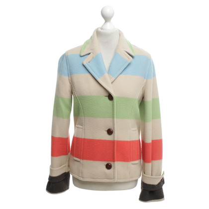 Escada Jacket with block stripes pattern