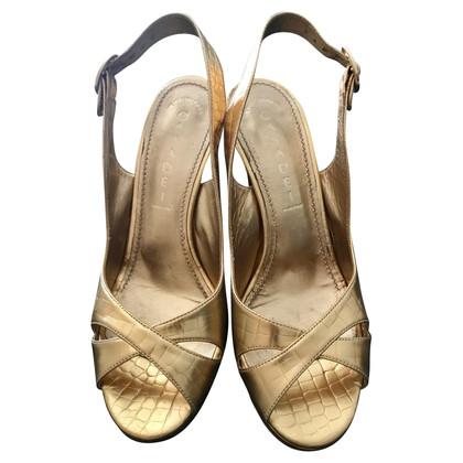 Casadei Goudkleurige sandalen