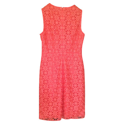 Hoss Intropia Kanten jurk in oranje