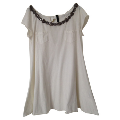 Twin-Set Simona Barbieri Top in Creme