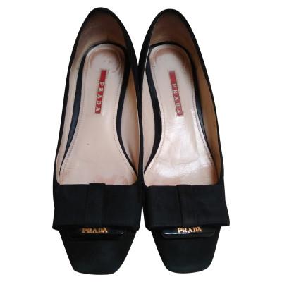 a070d61c4c568 Prada Slipper und Ballerinas Second Hand  Prada Slipper und ...