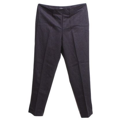 Gunex trousers with plaid pattern