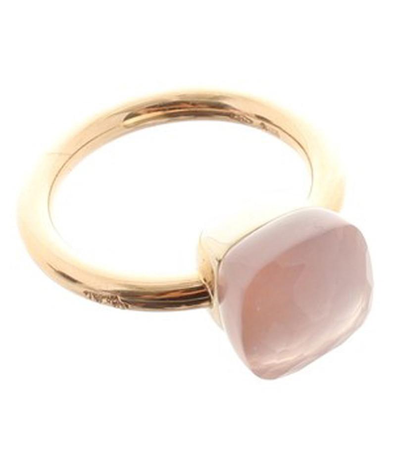 Célèbre Pomellato Anello con pietra quarzo rosa - Compra Pomellato Anello  GV07