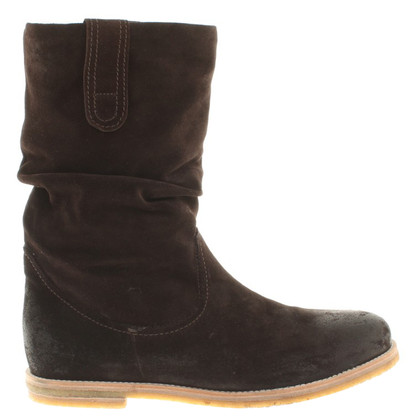 Kennel & Schmenger Suede boots in brown