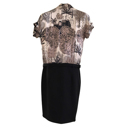 Marc Cain Dress with silk top