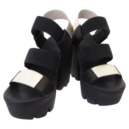 Vic Matie Sandals in bicolour