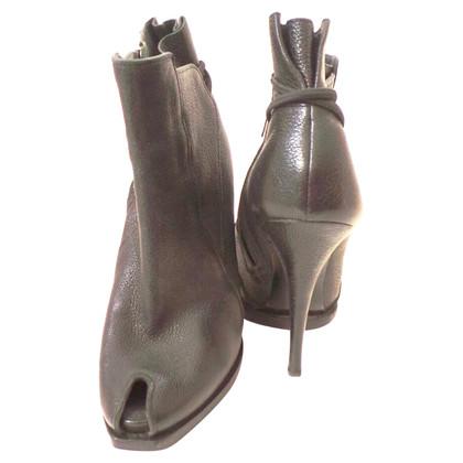 Givenchy Bottes Peep Toe