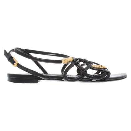 Tom Ford Leather sandals in black