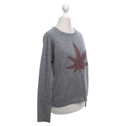 Allude Sweater with hemp motif