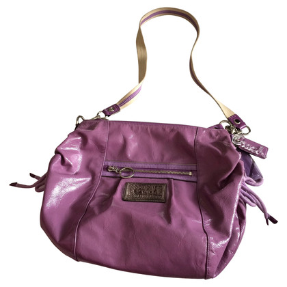 Coach Handbag Patent Leather