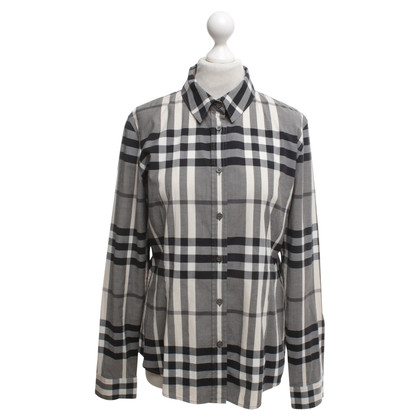 Burberry Bluse mit Check-Muster