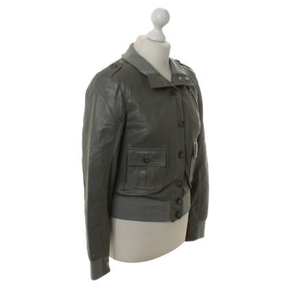 Jo Nu Fui  leather jacket