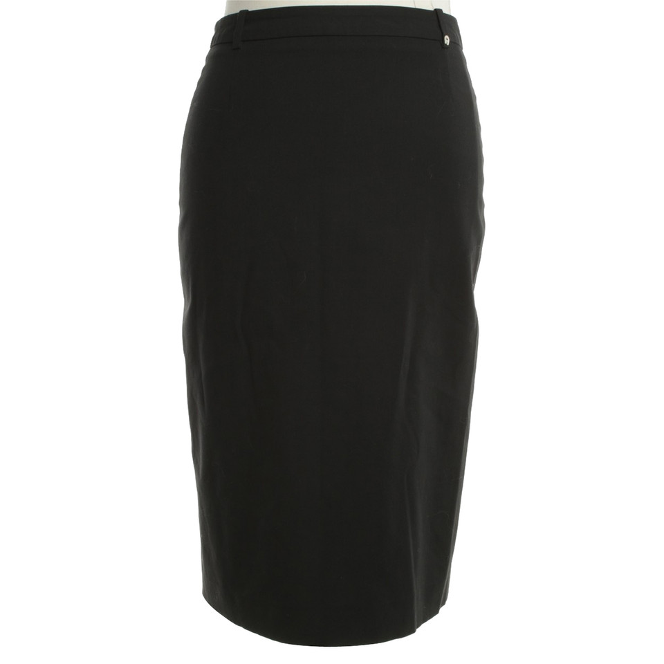 Aigner Black pencil skirt