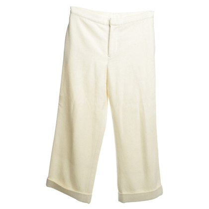 Yohji Yamamoto Cream color trousers