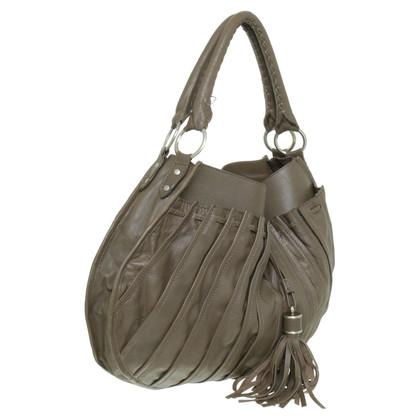 Reiss Handtasche im Falten-Design