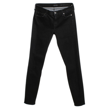 7 For All Mankind Jeans in zwart