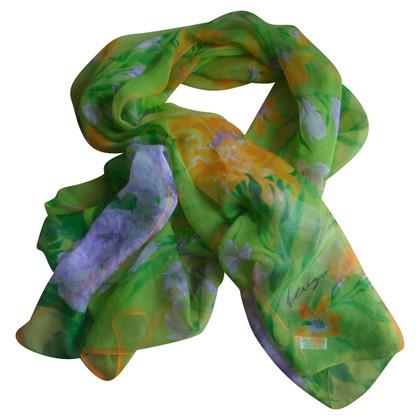 Kenzo Zijden sjaal met bloemen