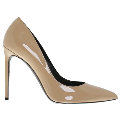 Saint Laurent Pumps aus Lackleder