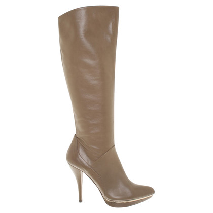 Pura Lopez Stiefel  in Taupe