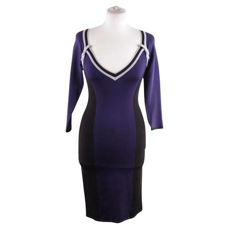 Karen Millen Kleid in Blau Blau