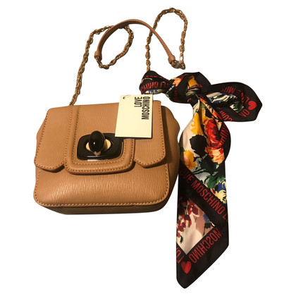 Moschino Love Shoulder bag with cloth