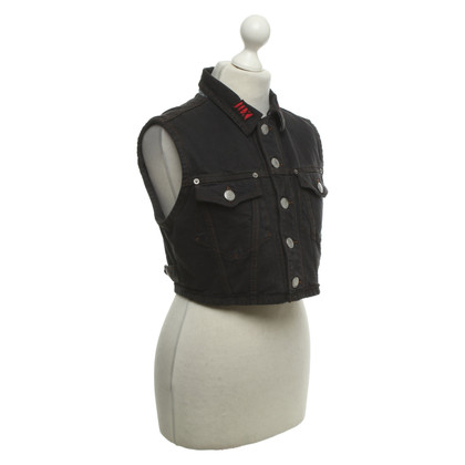 Jean Paul Gaultier Denim vest in used look
