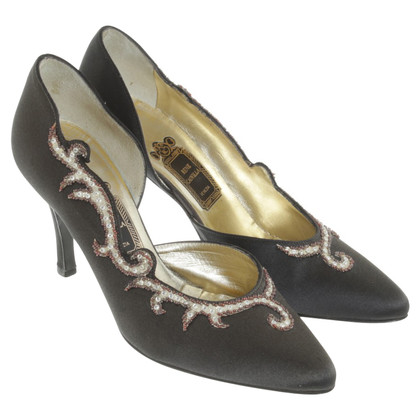 René Caovilla pumps with sequins