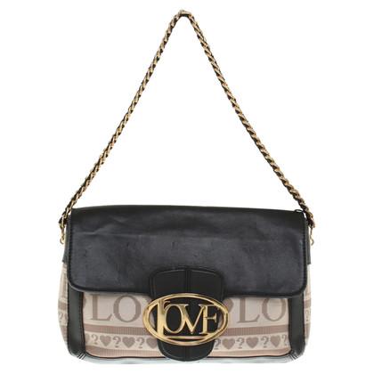 Moschino Handtasche in Schwarz