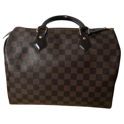 "Louis Vuitton ""Speedy 30 Damier Ebene Canvas"""