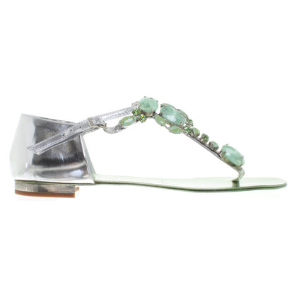 Giuseppe Zanotti Sandals with gemstones