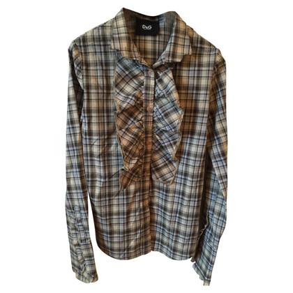 Dolce & Gabbana Dolce & Gabbana overhemd Tile