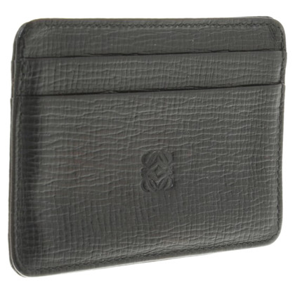 Loewe Credit card case made Taiga Leather