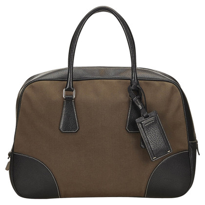 Prada Prada Canvas Handbag