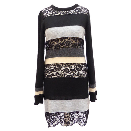 D&G Knit dress with lace inserts