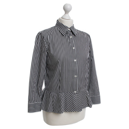 Ralph Lauren Stripe blouse in black and white