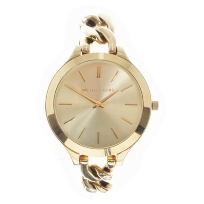 michael kors goldfarbene armbanduhr second hand michael kors goldfarbene armbanduhr gebraucht. Black Bedroom Furniture Sets. Home Design Ideas